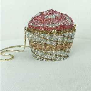 Crystal Custom Strass Cupcake Evening Clutch